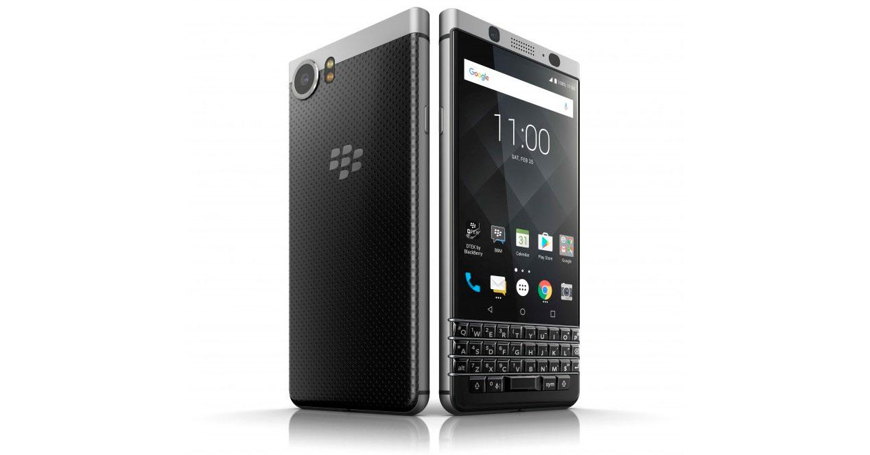 Blackberry KEYone con Android 7
