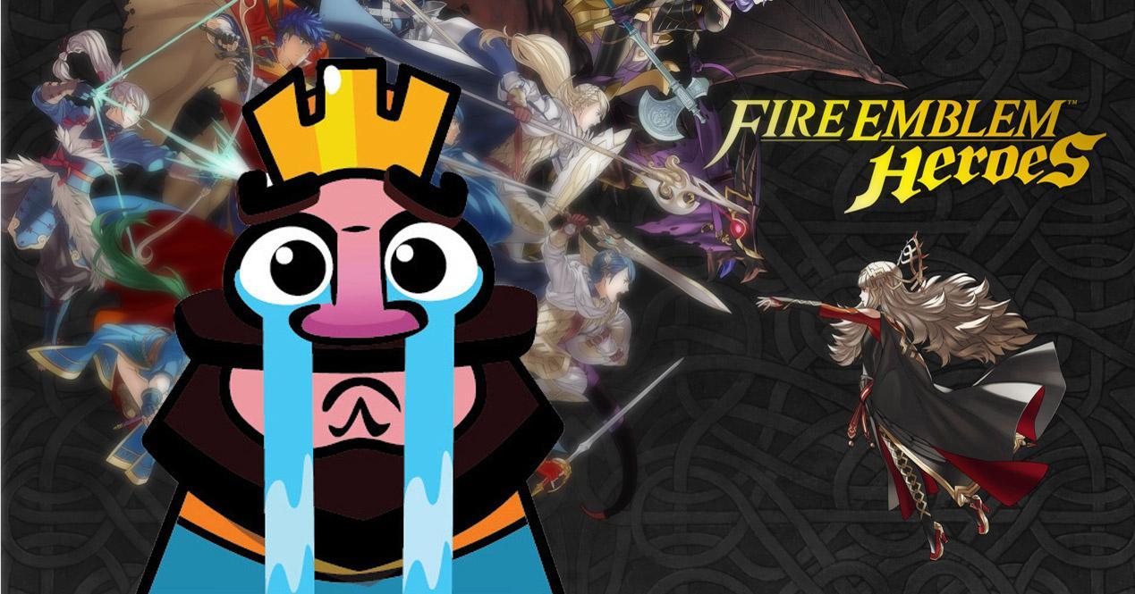 fire emblem heroes vs clash royale