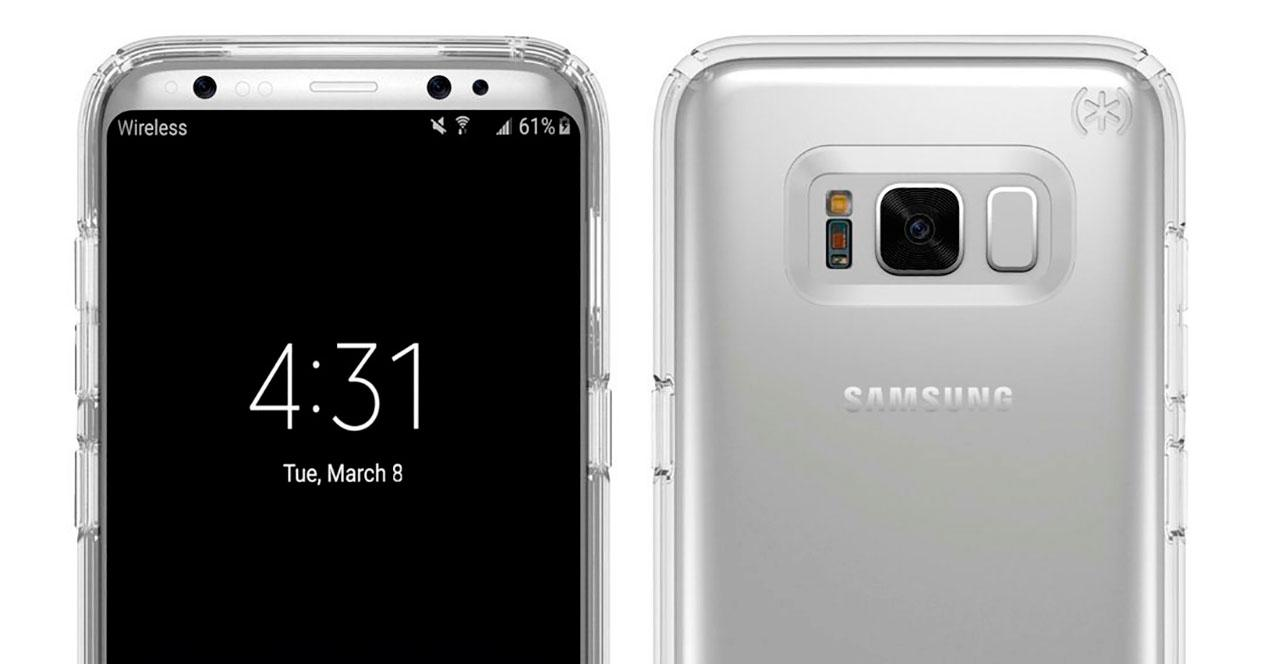 presentación del Galaxy S8
