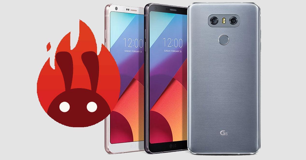 LG G6 en AnTuTu