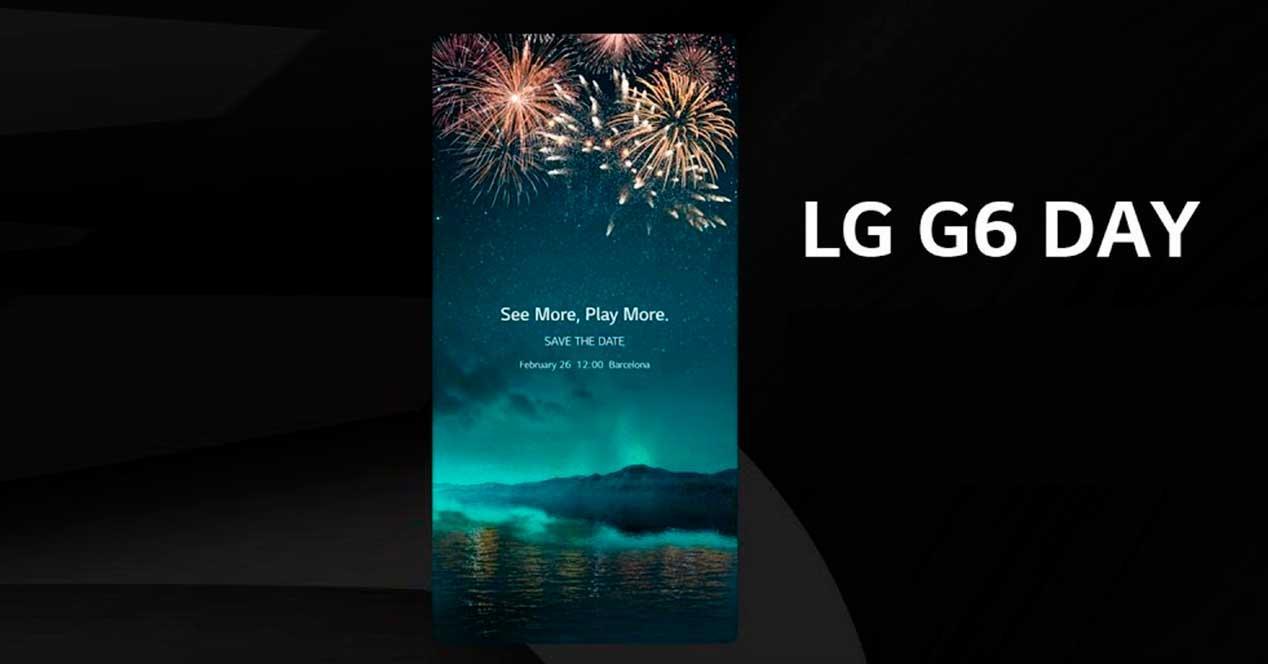 Presentación del LG G6