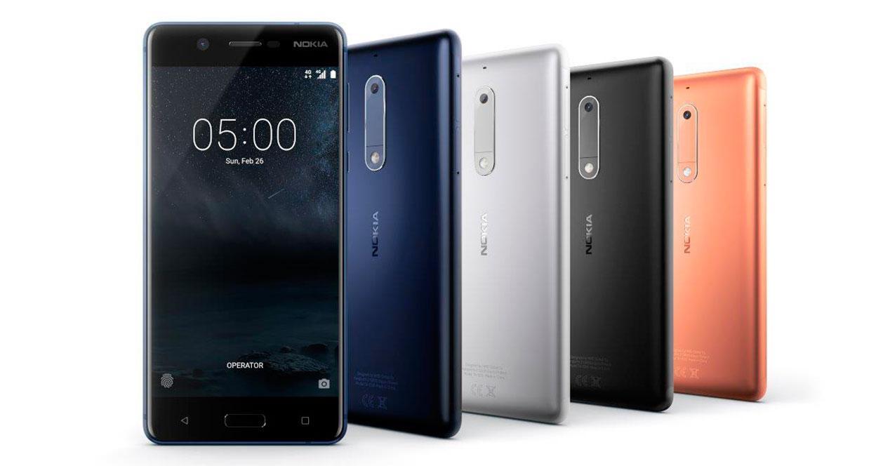 Características oficiales del Nokia 5 con Android 7