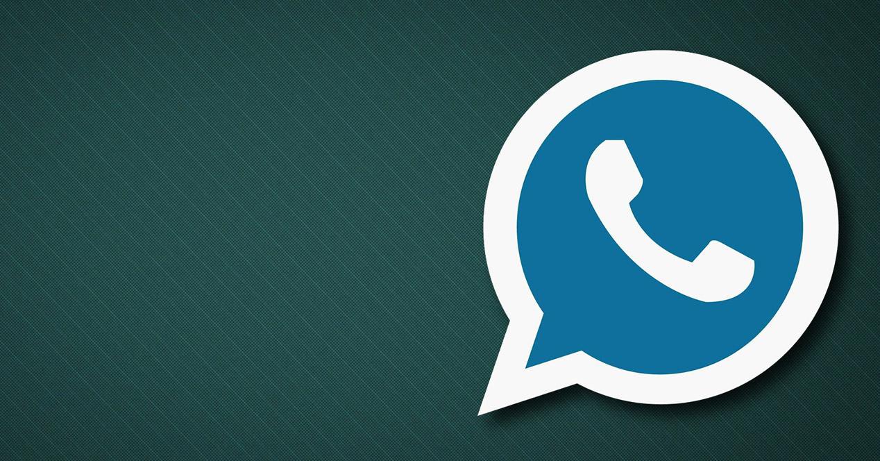 whatsapp azul