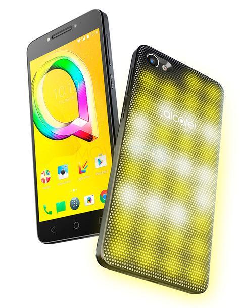 Alcatel A5 LED amarillo
