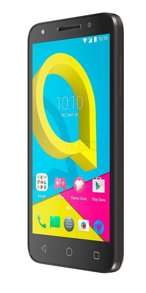 Alcatel U5 con pantalla encendida