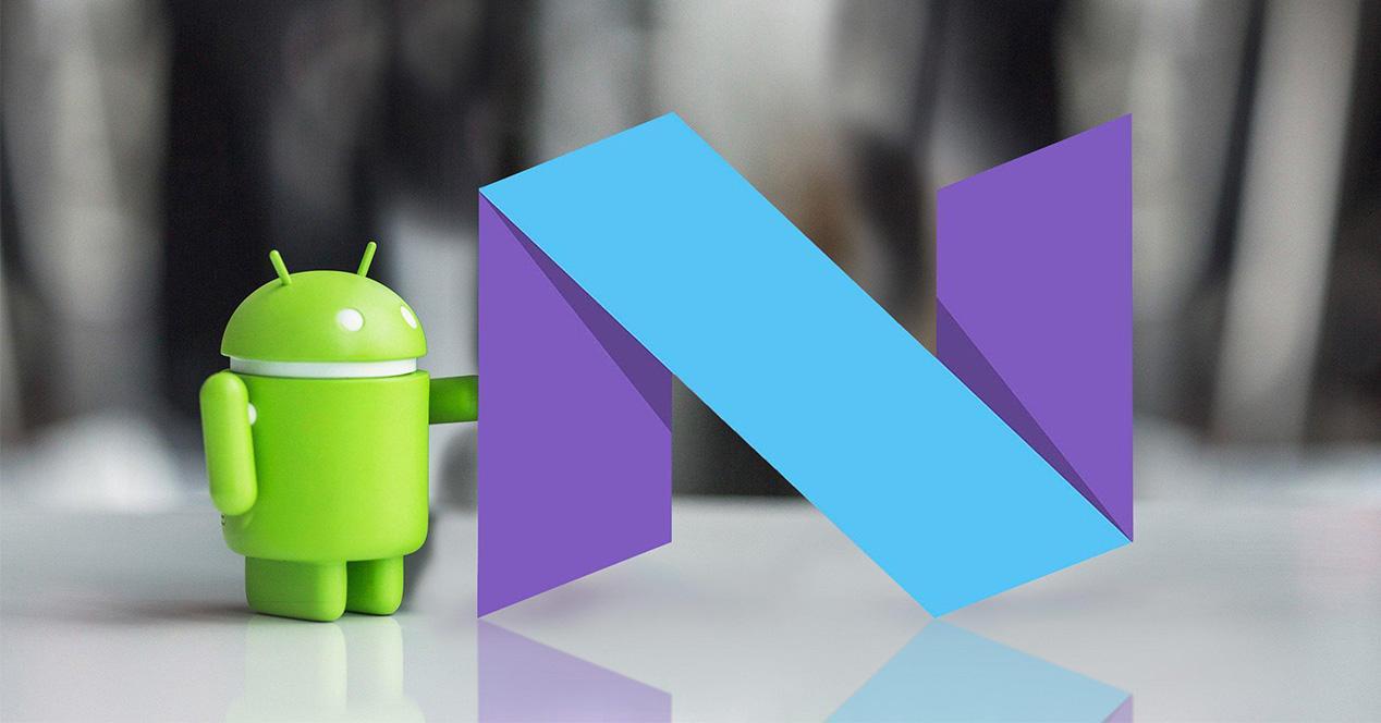 Nueva actualización de Android Nougat