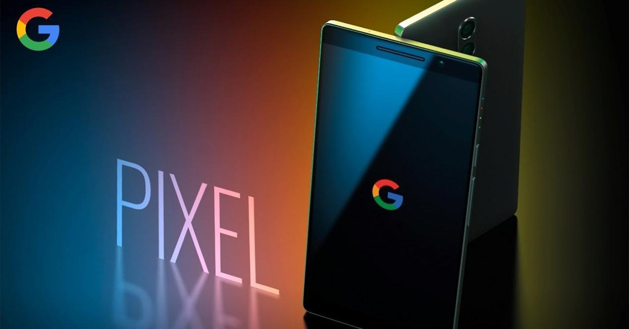 Imagen conceptual del Google Pixel 2
