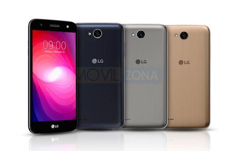 LG X Power2 negro, gris y dorado