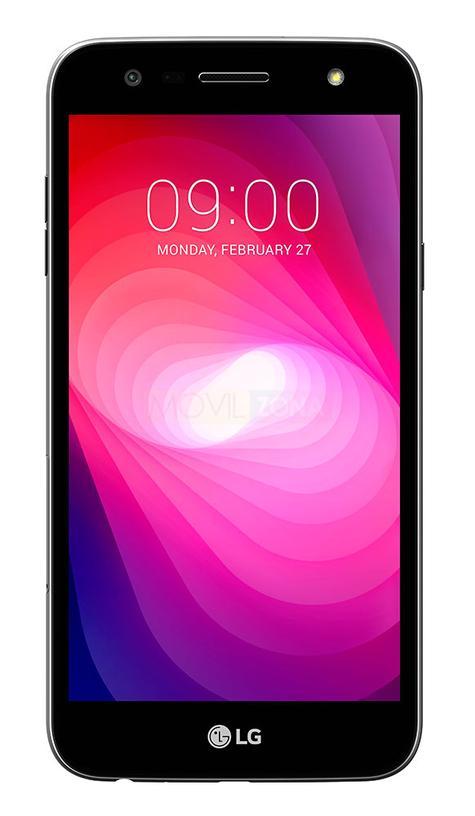 LG X Power2 negro frontal