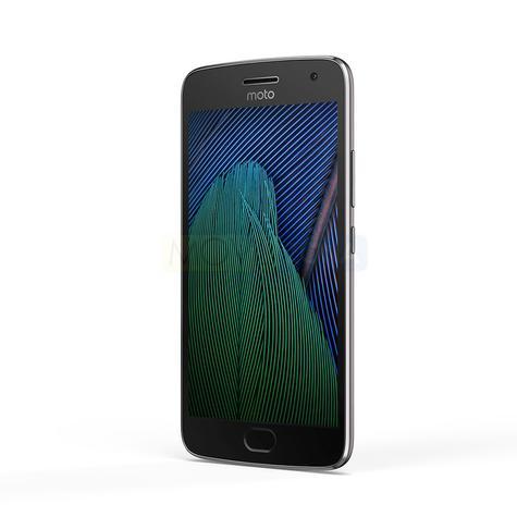 Moto G5 Plus pantalla encendida