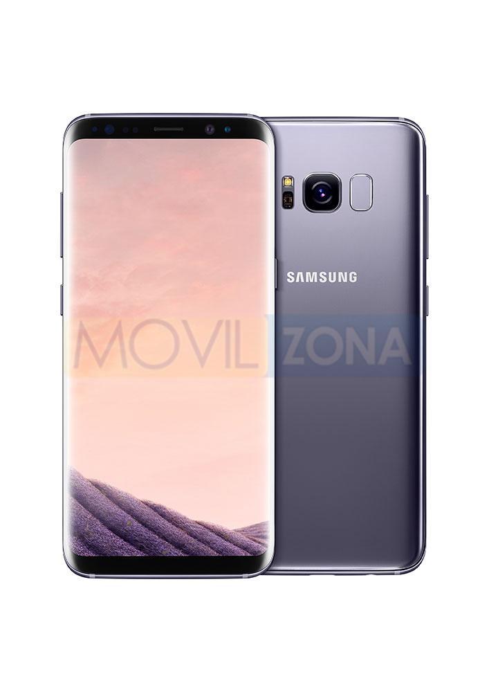 Samsung Galaxy S8 violeta viss