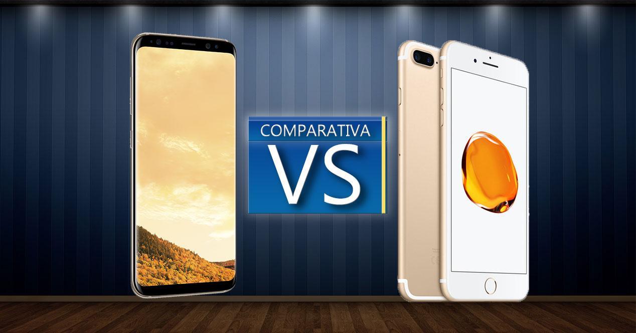 Samsung Galaxy S8 Plus VS iPhone 7 Plus