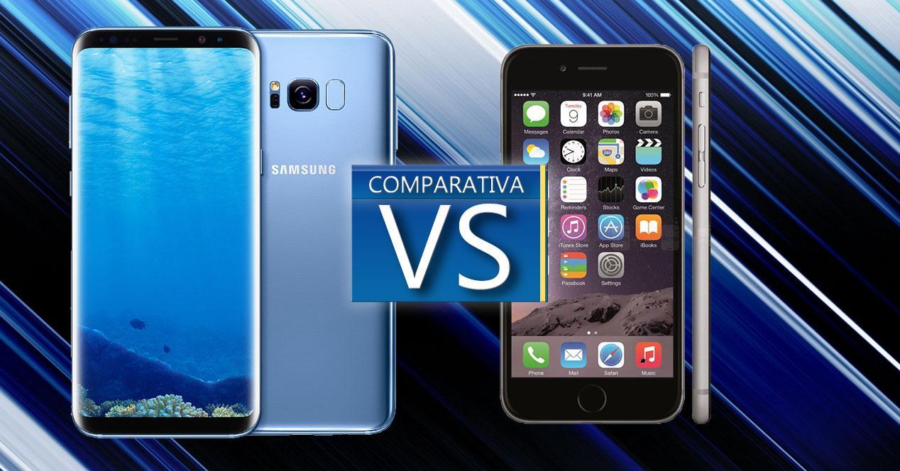Comparativa del Samsung Galaxy S8