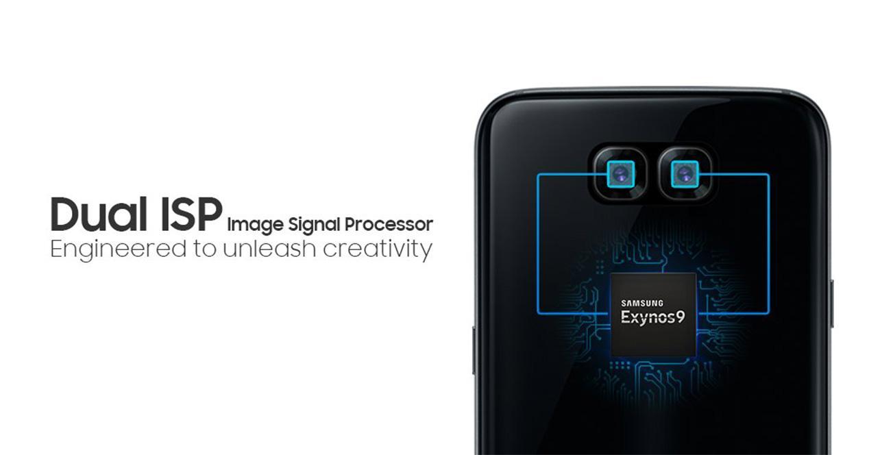 Samsung Galaxy S8 con doble cámara trasera