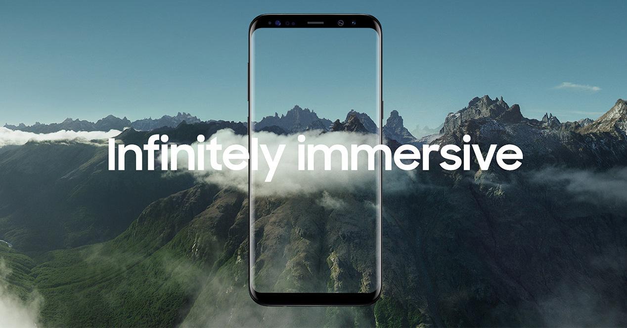 Pantalla Infinity Display del Samsung Galaxy S8