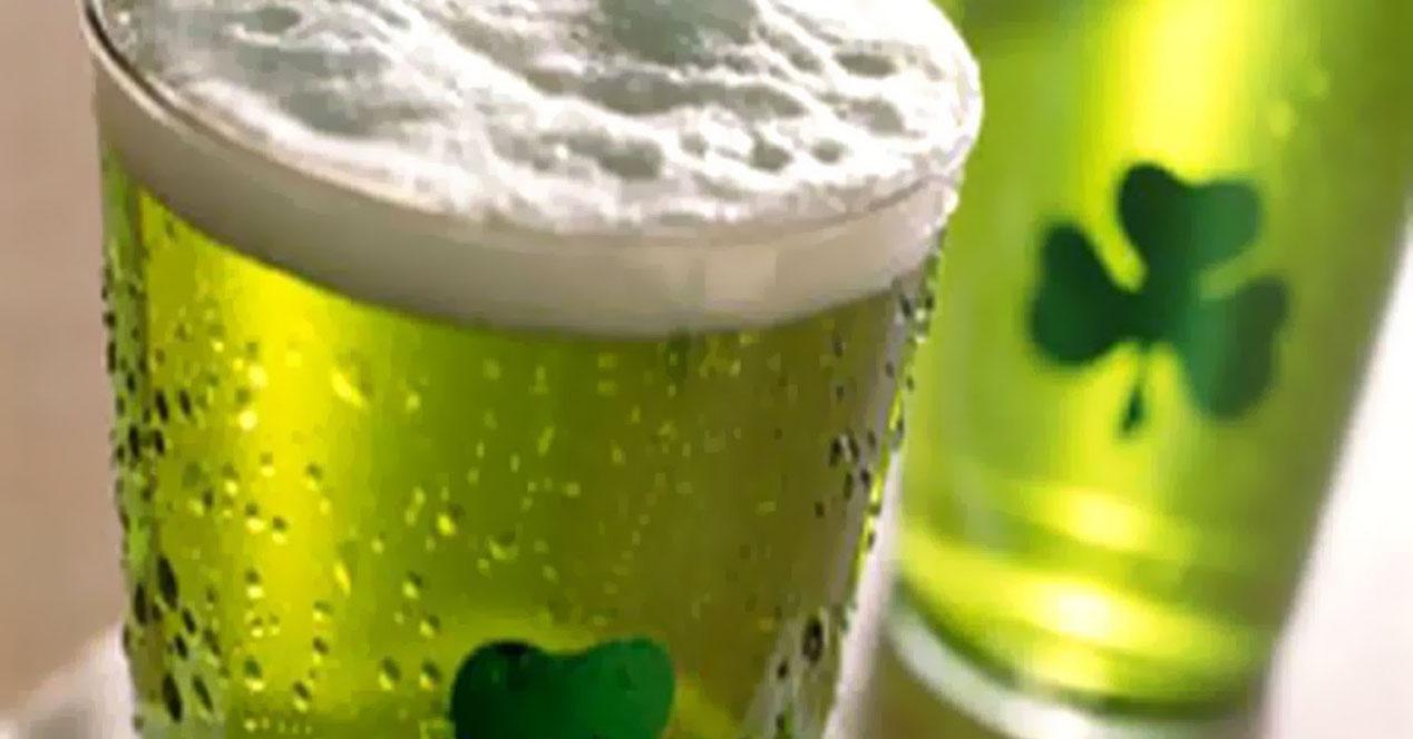 cerveza día san patricio