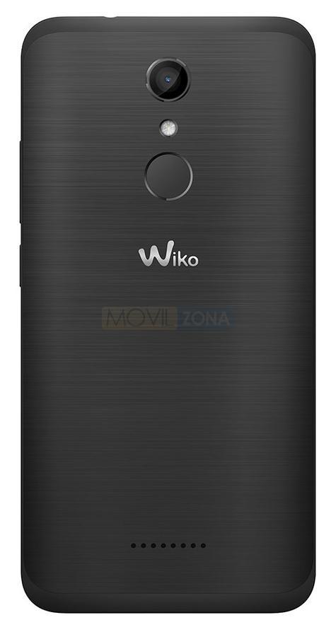 WIKO Upulse negro detalle de la cámara
