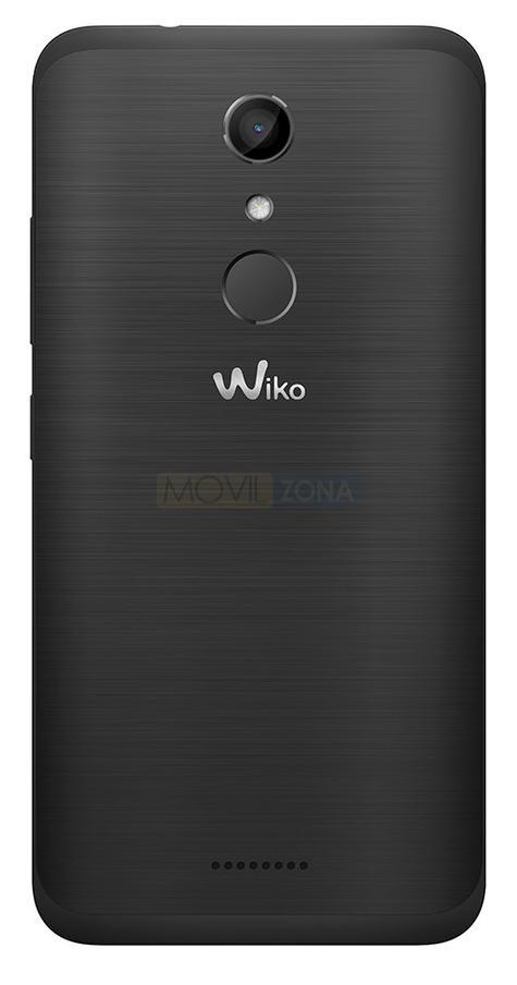 Wiko Upulse Lite negro detalle de la cámara