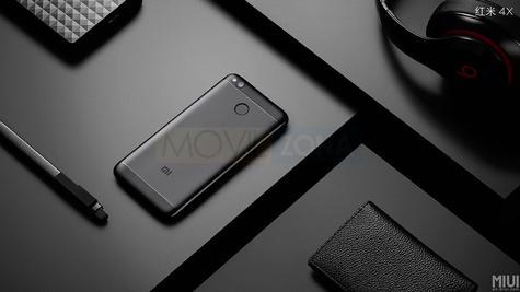 Xiaomi Redmi 4X negro
