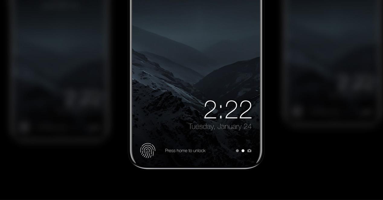 iPhone 8 sin botón Home