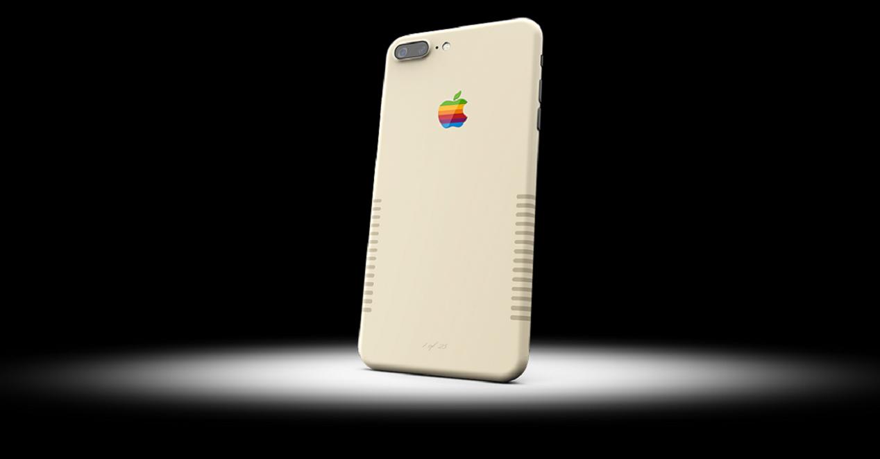 versión retro del iPhone 7 Plus