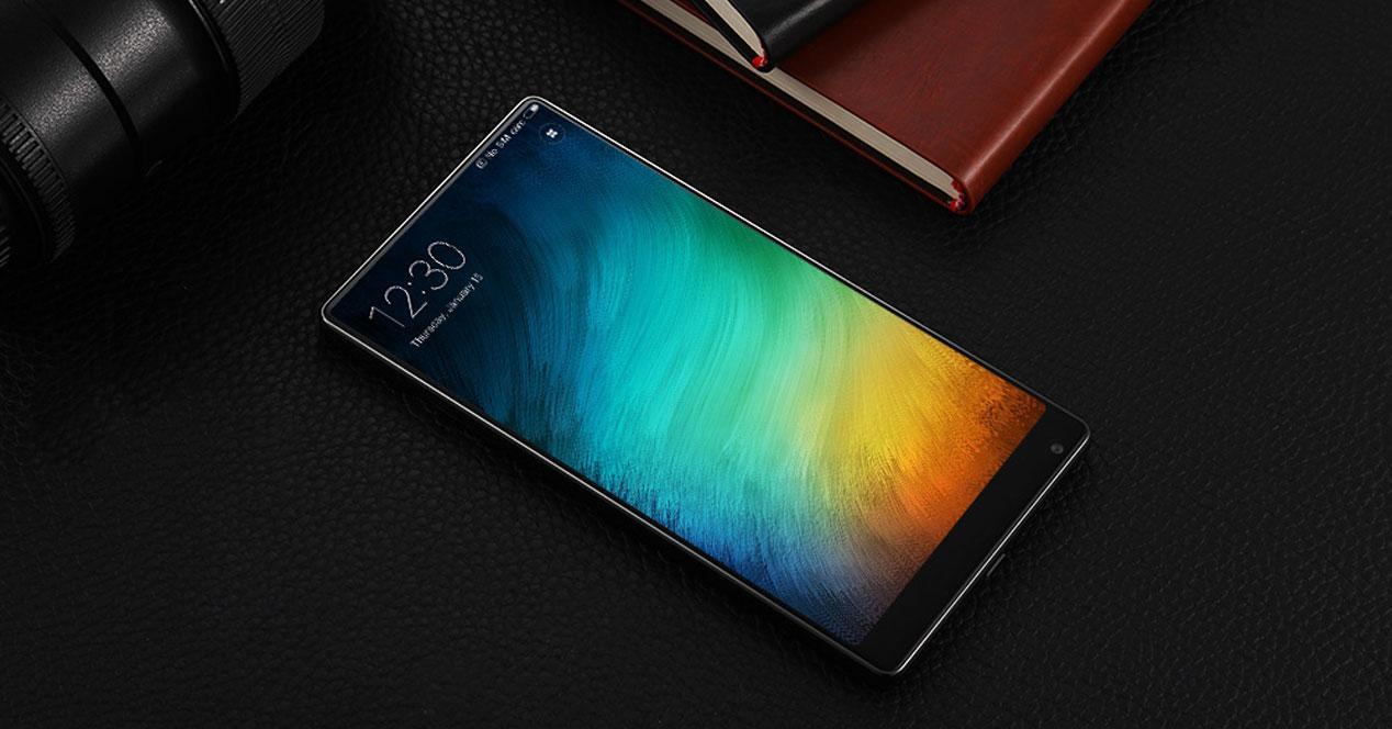 pantalla del Xiaomi Mi Mix 2