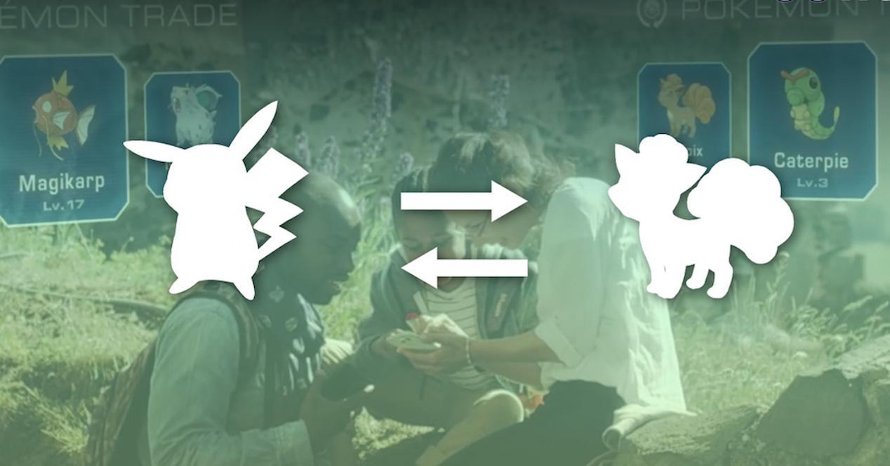 intercambio de pokemon