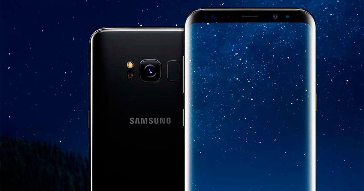 sensor de huellas del Samsung Galaxy S8