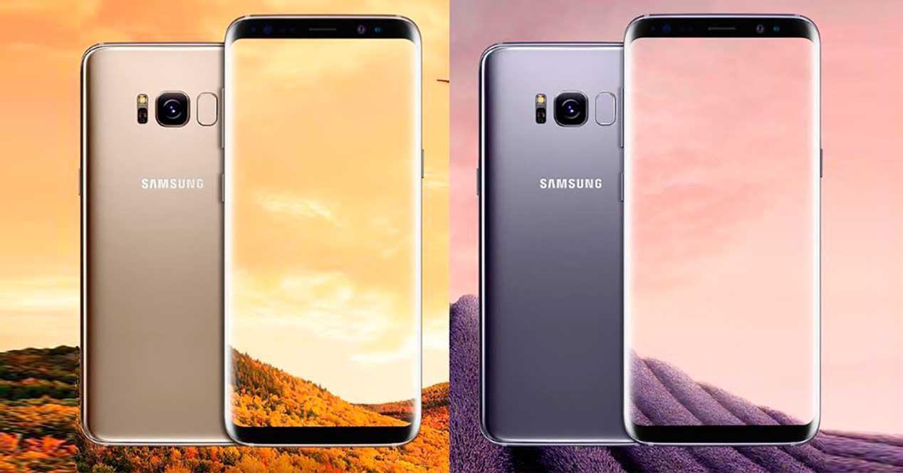 Samsung Galaxy S8 en dos colores