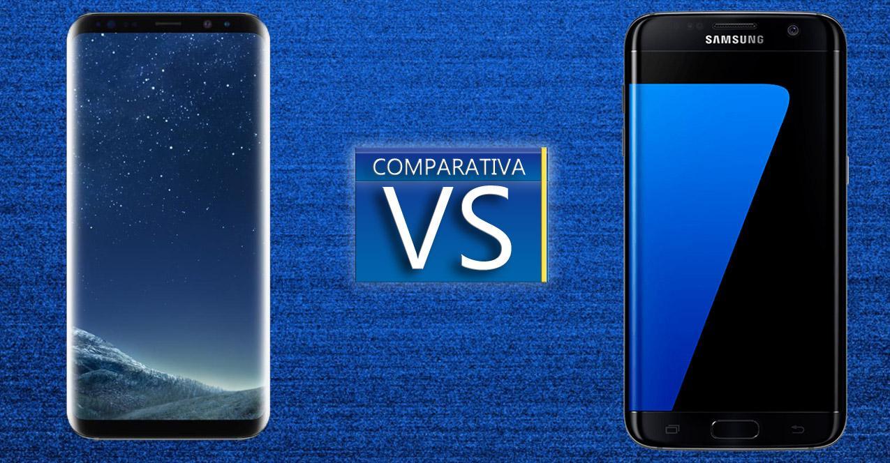 samsung galaxy s8+ con el Samsung Galaxy S7 Edge