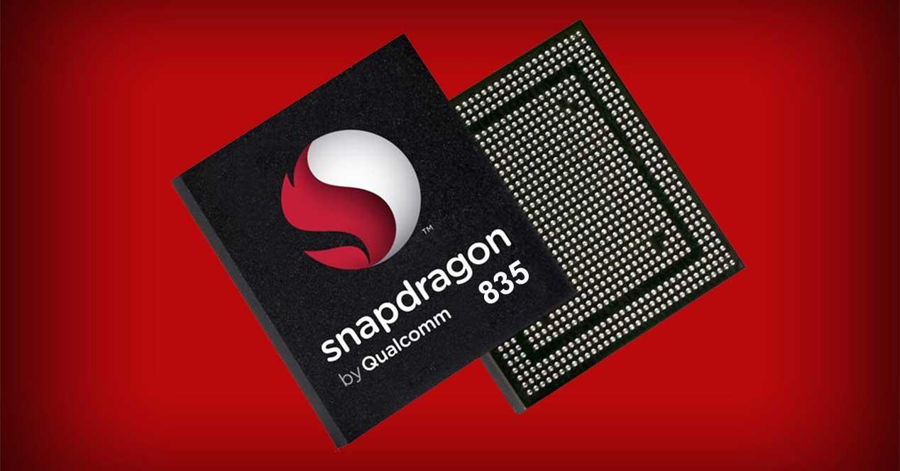 rendimiento del Snapdragon 835
