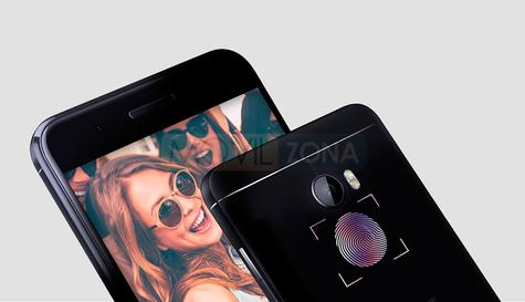 HTC One X10 sensor de huellas