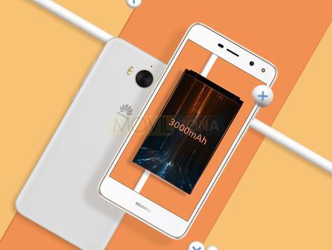 Huawei Y5 II blanco vista delantera y trasera