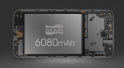 Oukitel K6000 Plus bateria