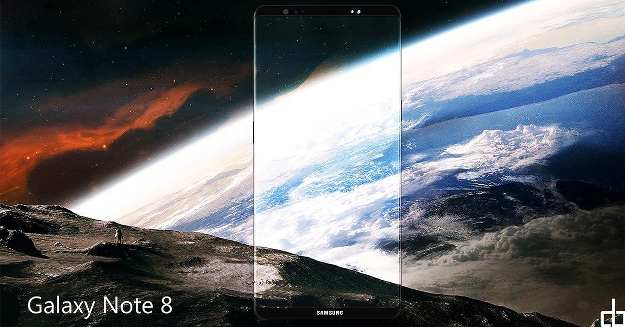 vídeo del Samsung Galaxy Note 8