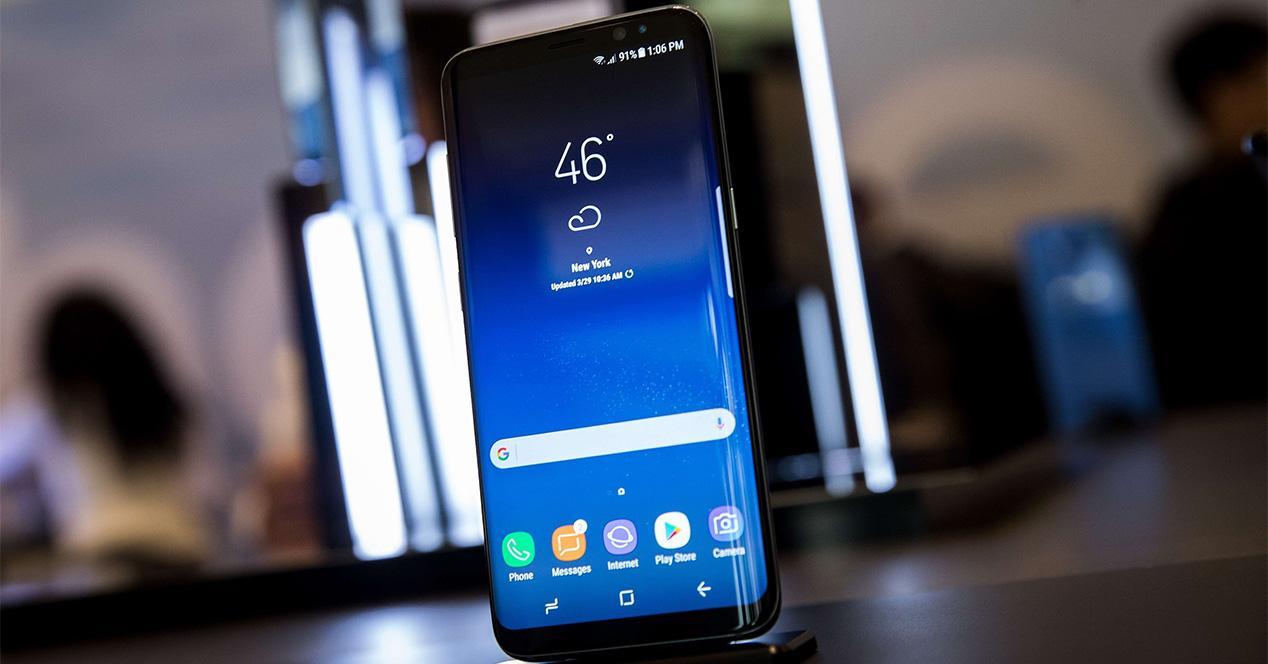 Botones físicos del Samsung Galaxy S8