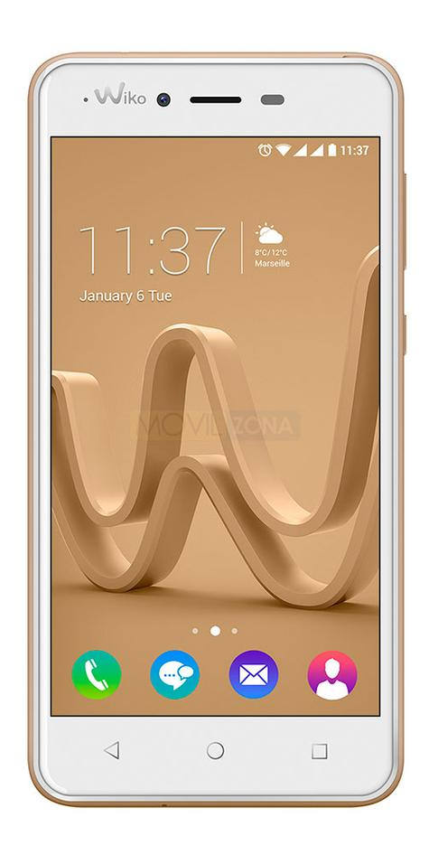 Wiko Jerry Max blanco frontal