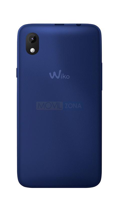 Wiko Sunny Max azul vista trasera de la cámara
