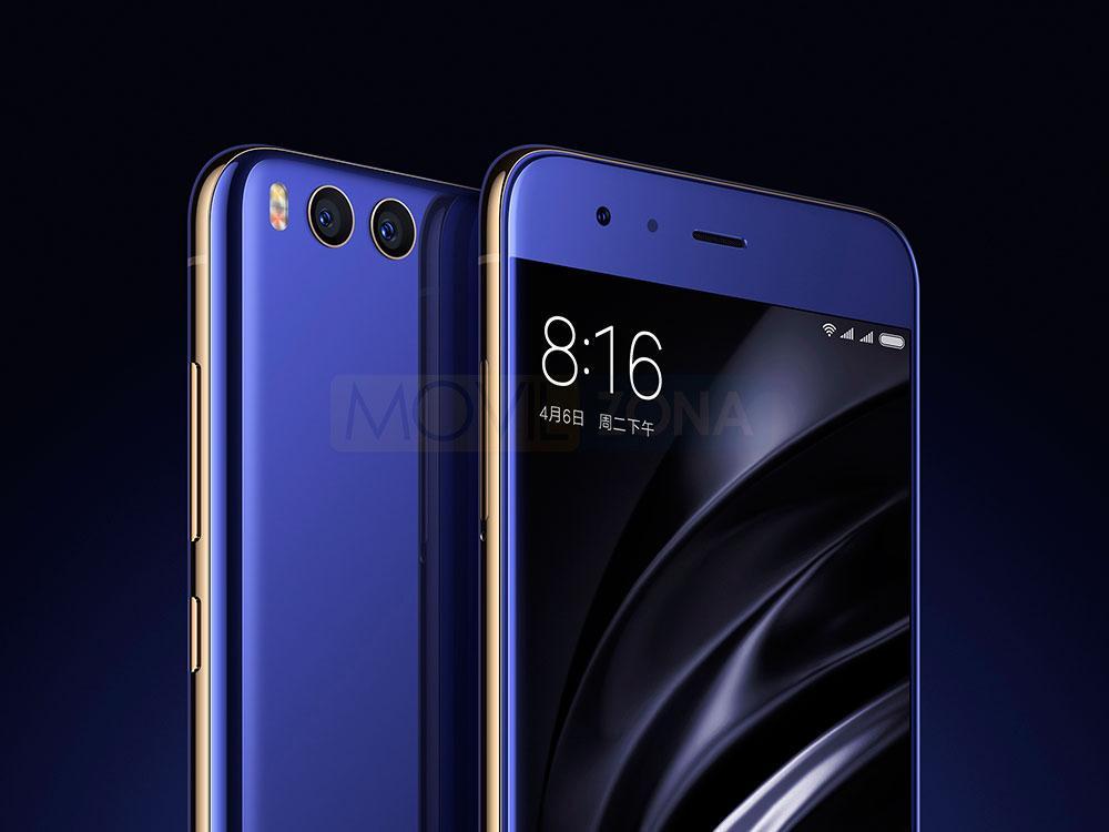 Xiaomi Mi 6 cámaras delantera y trasera