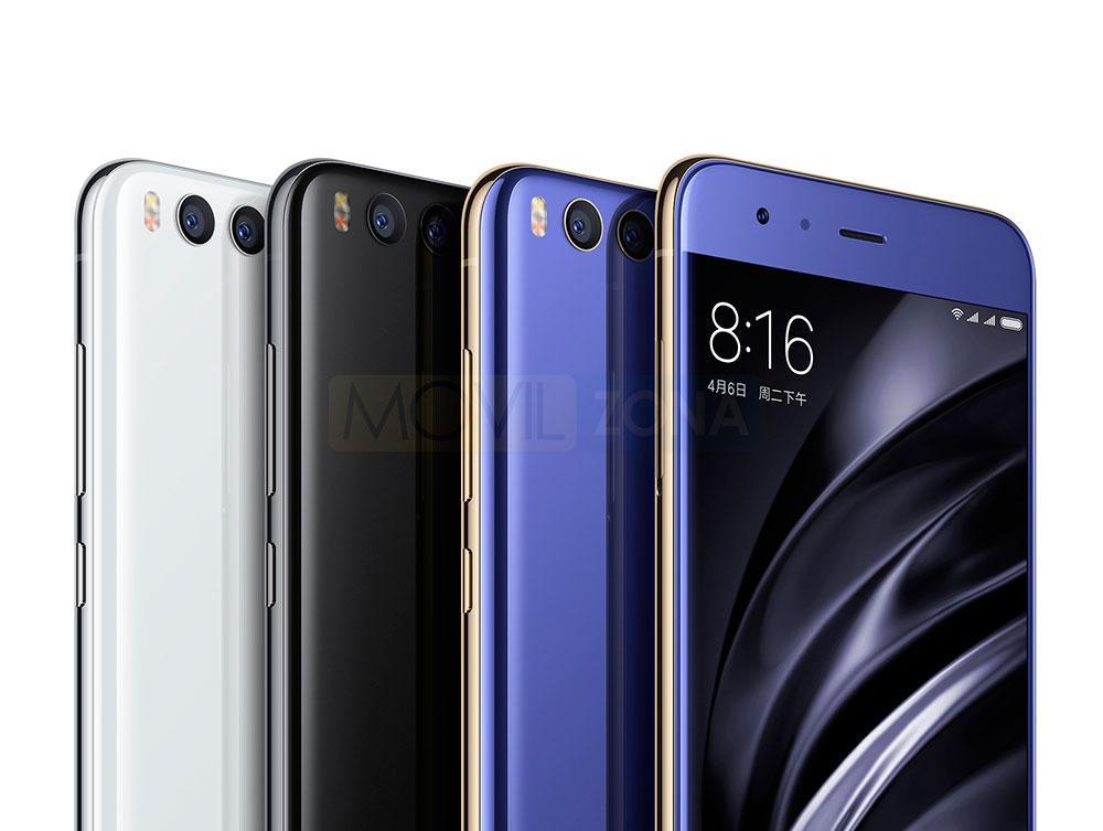 Xiaomi Mi 6 cámaras traseras