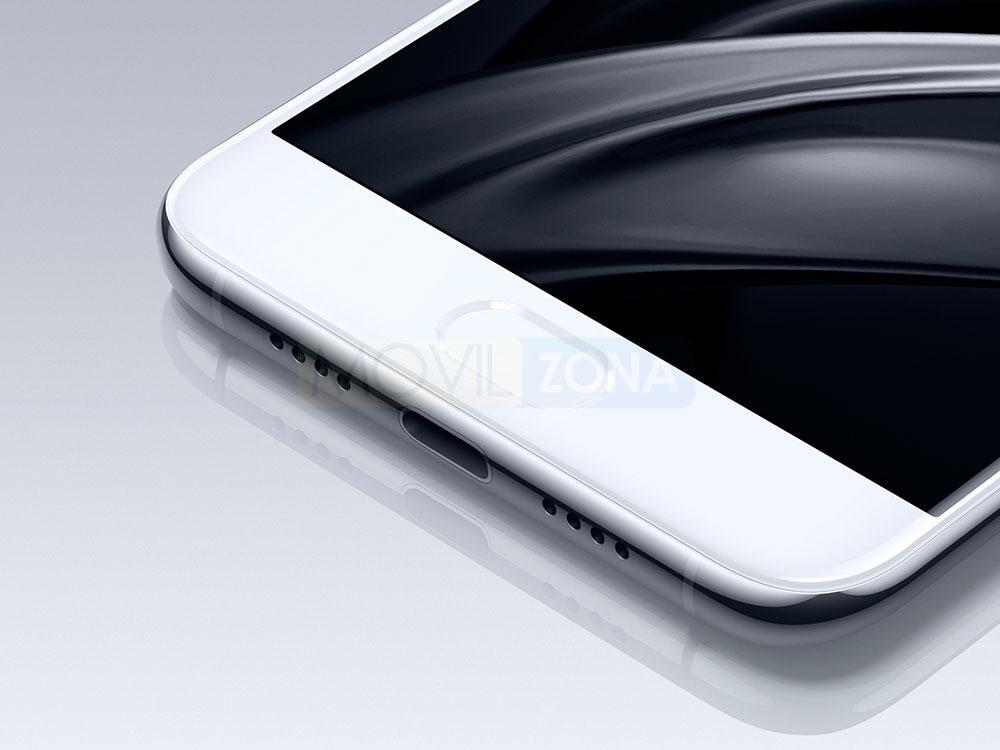 Xiaomi Mi 6 blanco botón home