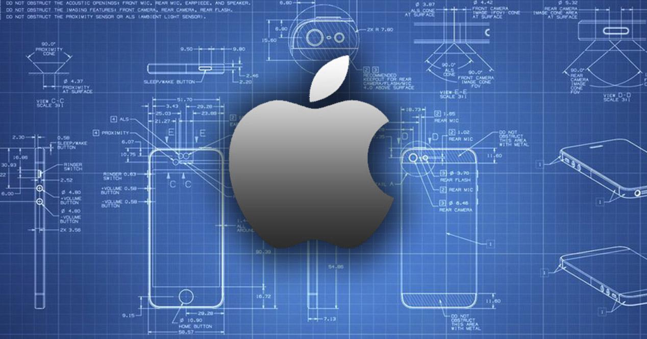 Diseño de un iPhone