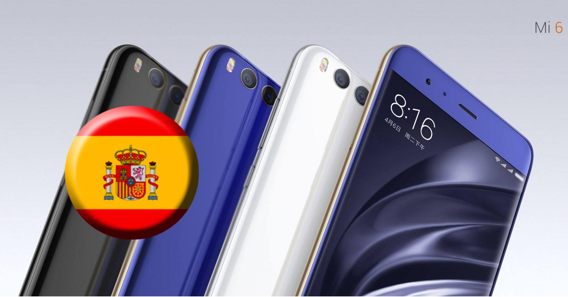 comprar el Xiaomi Mi 6