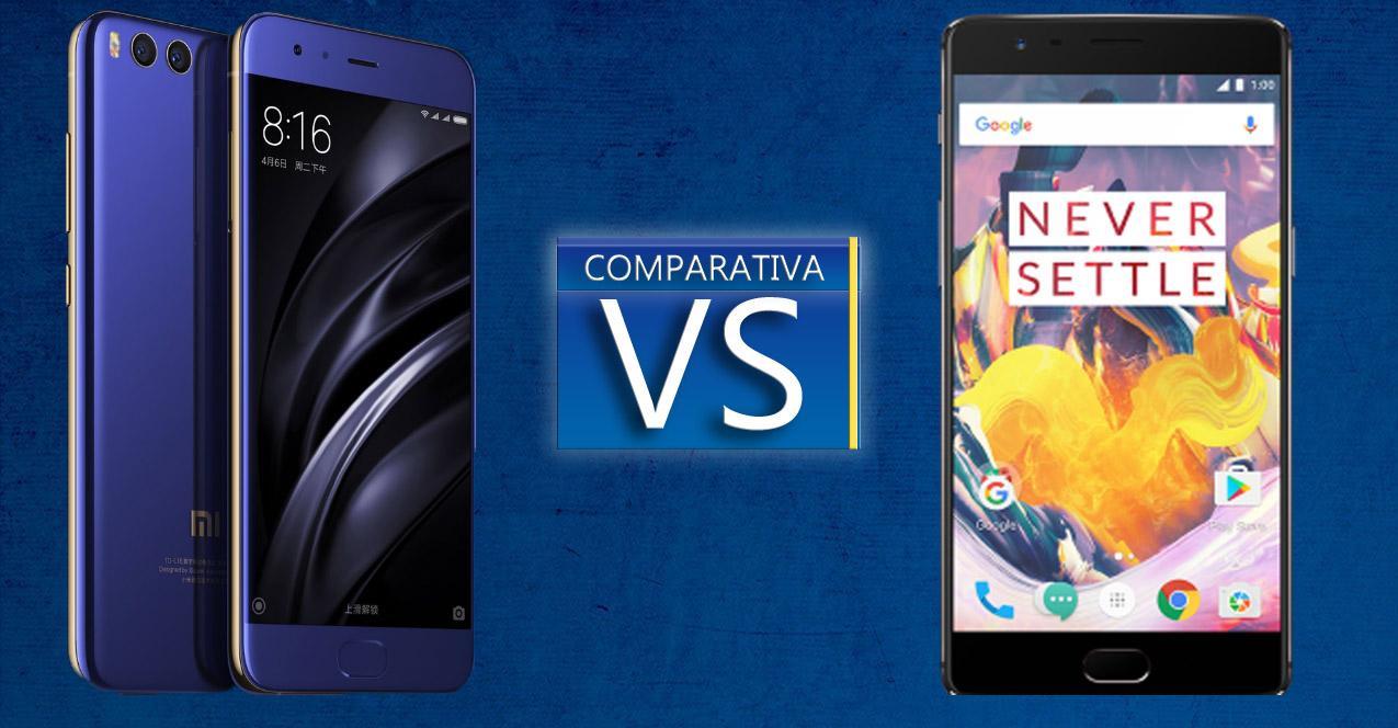 Xiaomi Mi6 o OnePlus 3t