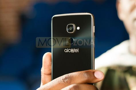 Alcatel Idol 4 Pro con Windows Phone vista de la cámara