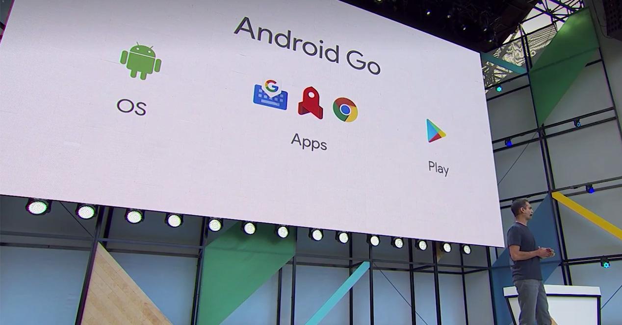 presentación de Android Go