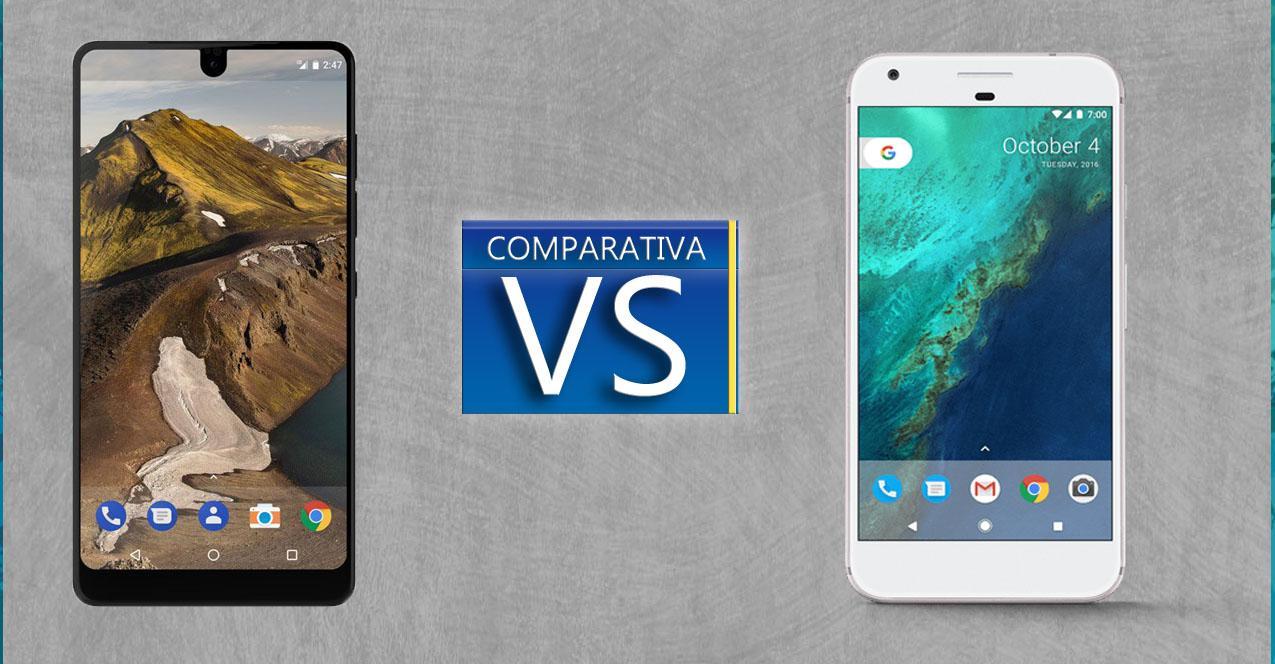 Essential vs Google