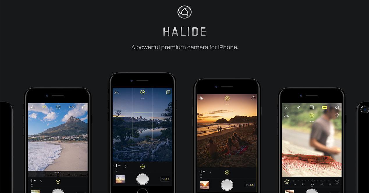 Aplicación de cámara para iPhone