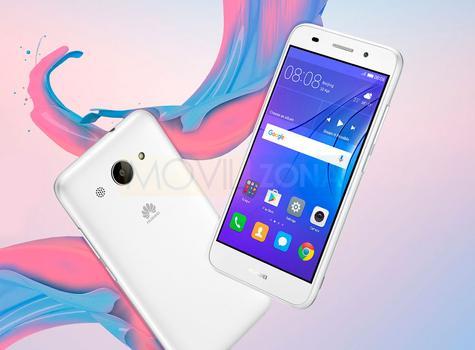 Huawei Y3 2017 blanco vista trasera