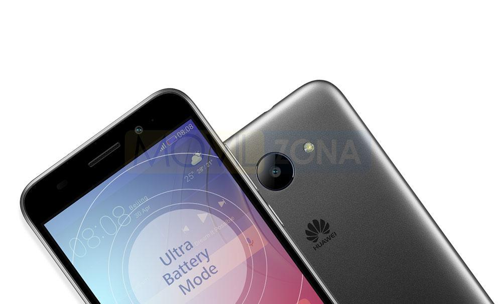 Huawei Y3 2017 negro y gris